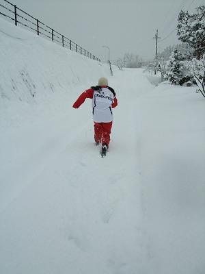 雪を楽しむ_b0117564_1924530.jpg