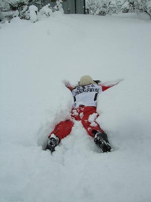雪を楽しむ_b0117564_1925621.jpg