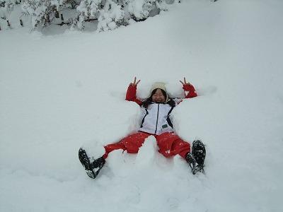 雪を楽しむ_b0117564_1931823.jpg
