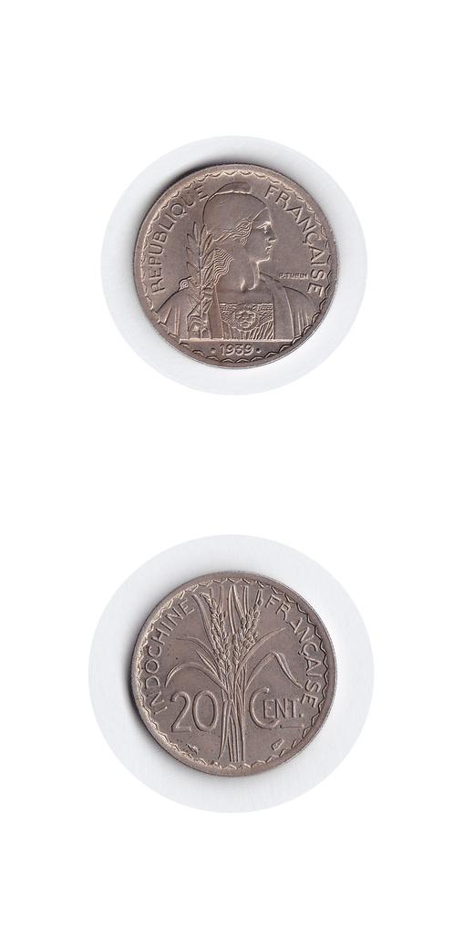 仏領インドシナ のコインをもう一つ_c0027285_23441657.jpg