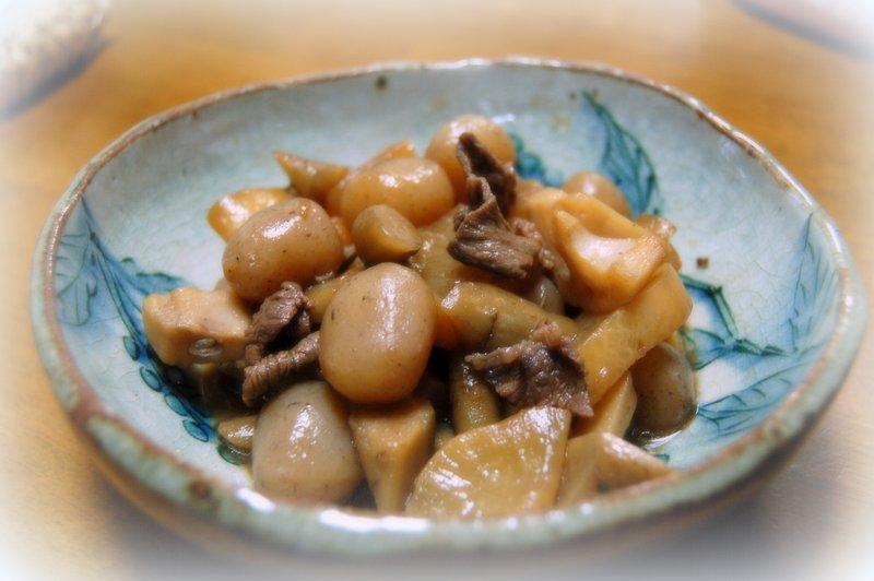 根菜の煮物_c0057390_23435150.jpg
