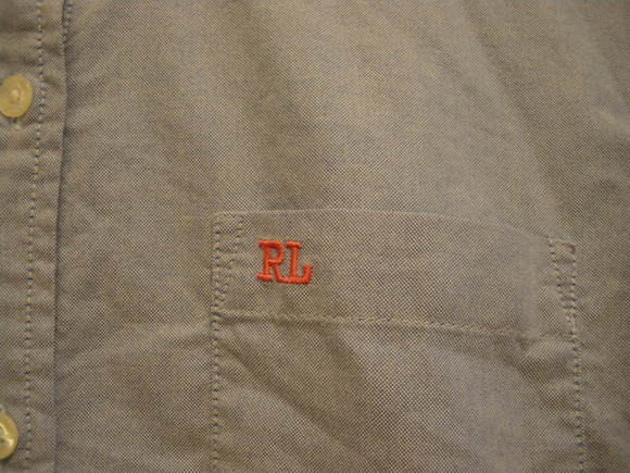 ラルフシャツと、ハンドメイドアクセサリー。_d0256914_22195654.jpg
