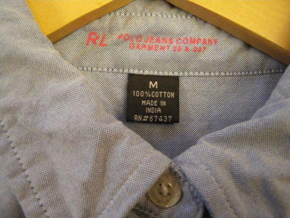 ラルフシャツと、ハンドメイドアクセサリー。_d0256914_2220967.jpg