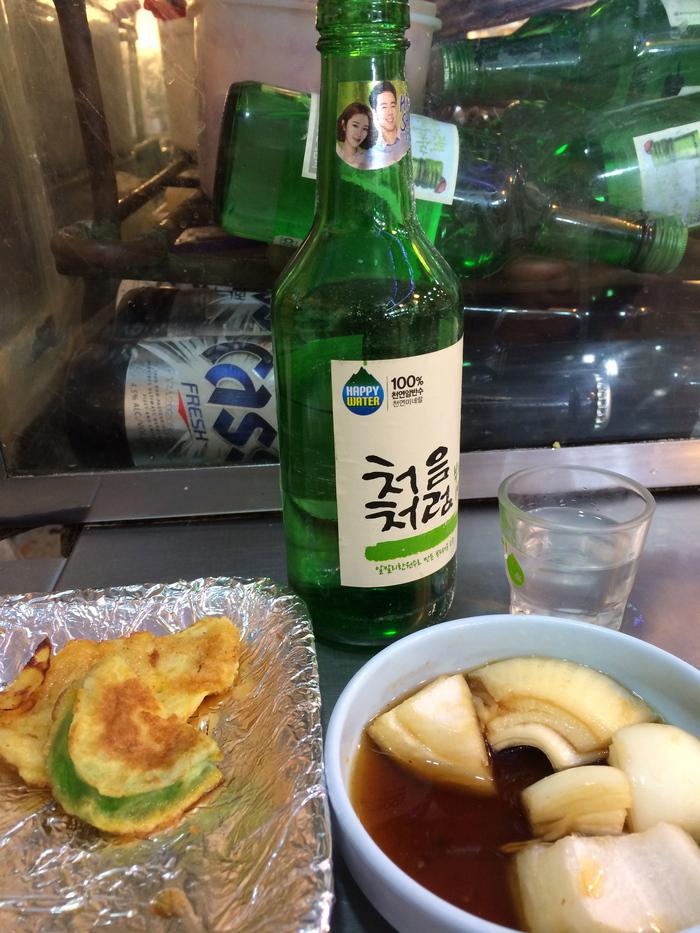 2014 2月 ソウル (13) 初日夜の広蔵市場 と ちょっとお知らせ_f0062122_12203848.jpg