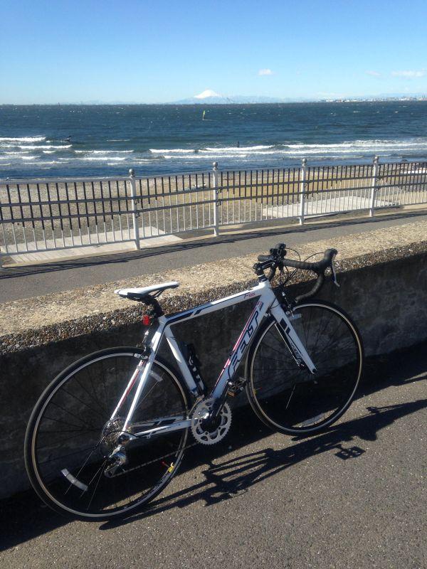 浜辺付近をサイクリング_a0038328_2138383.jpg