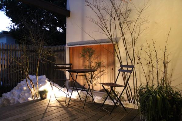 庭の雪山_c0310571_21331001.jpg
