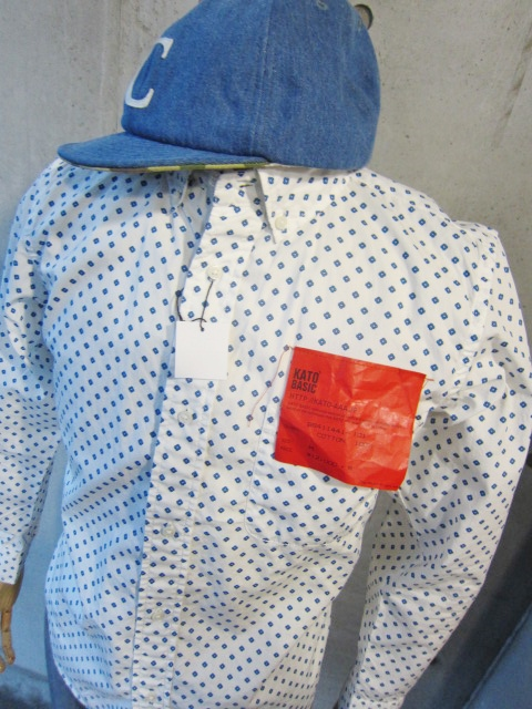 Kato BASIC & Kato AAA 。。。SHIRTS、シャツ、しゃつ、、、!★!_d0152280_212158.jpg