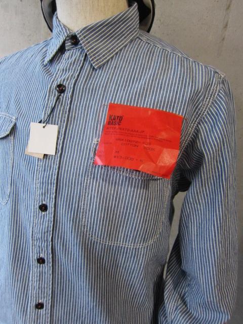 Kato BASIC & Kato AAA 。。。SHIRTS、シャツ、しゃつ、、、!★!_d0152280_2132910.jpg