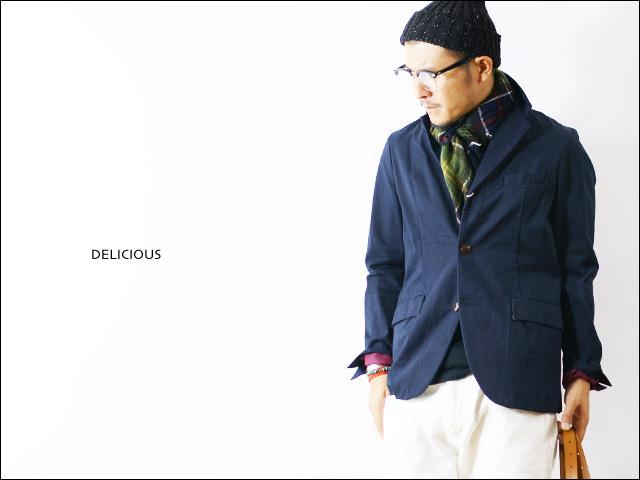 DELICIOUS [デリシャス] CHINO JACKET [DJ0158] チノジャケット MEN\'S _f0051306_17174011.jpg