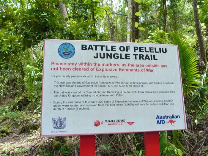 ペリリュー島の戦跡_d0116009_10172255.jpg