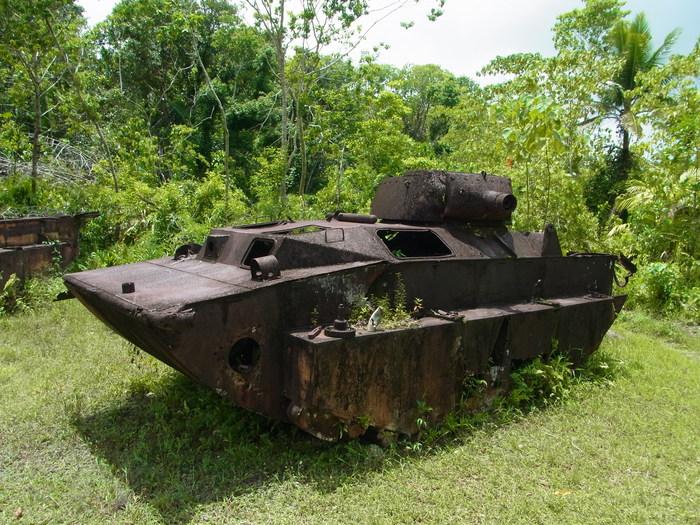 ペリリュー島の戦跡_d0116009_9571612.jpg