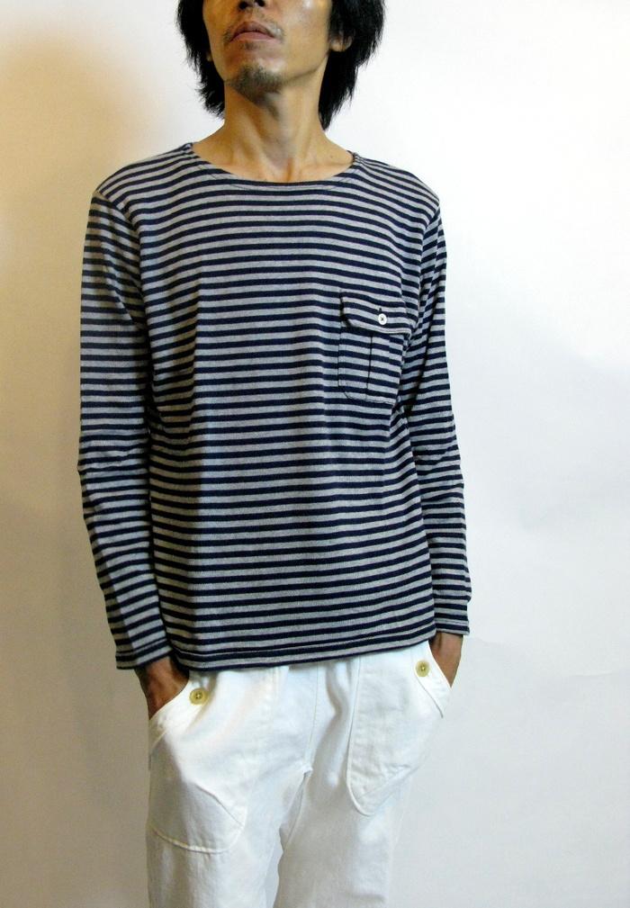 ◆Tenjiku Pocket Basque Shirt _e0142928_18191581.jpg