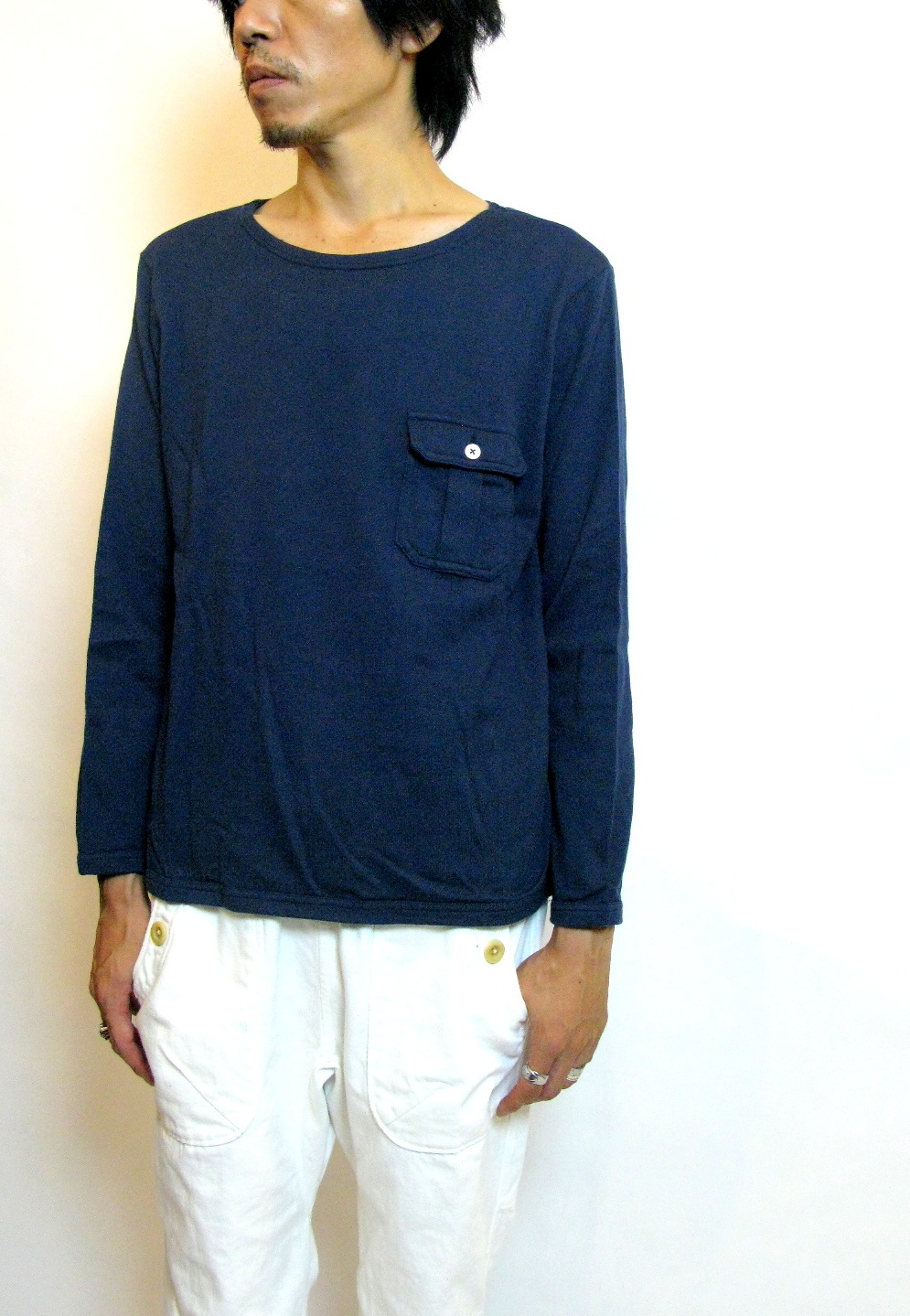 ◆Tenjiku Pocket Basque Shirt _e0142928_18192679.jpg