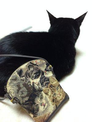 お猫ポシェット_c0185356_1819743.jpg