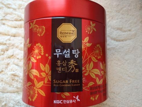 9月 ソウル旅行 その10  正官庄 Renessseのキャンディで風邪知らず☆_f0054260_17125374.jpg