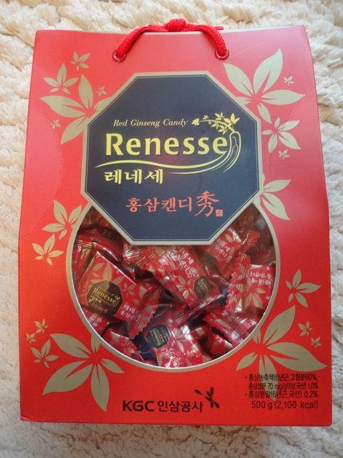 9月 ソウル旅行 その10  正官庄 Renessseのキャンディで風邪知らず☆_f0054260_17132372.jpg