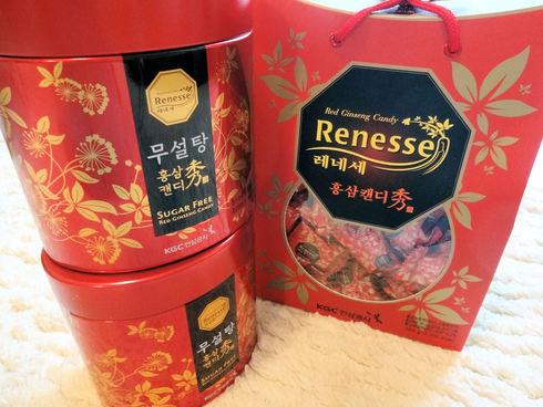 9月 ソウル旅行 その10  正官庄 Renessseのキャンディで風邪知らず☆_f0054260_1753333.jpg