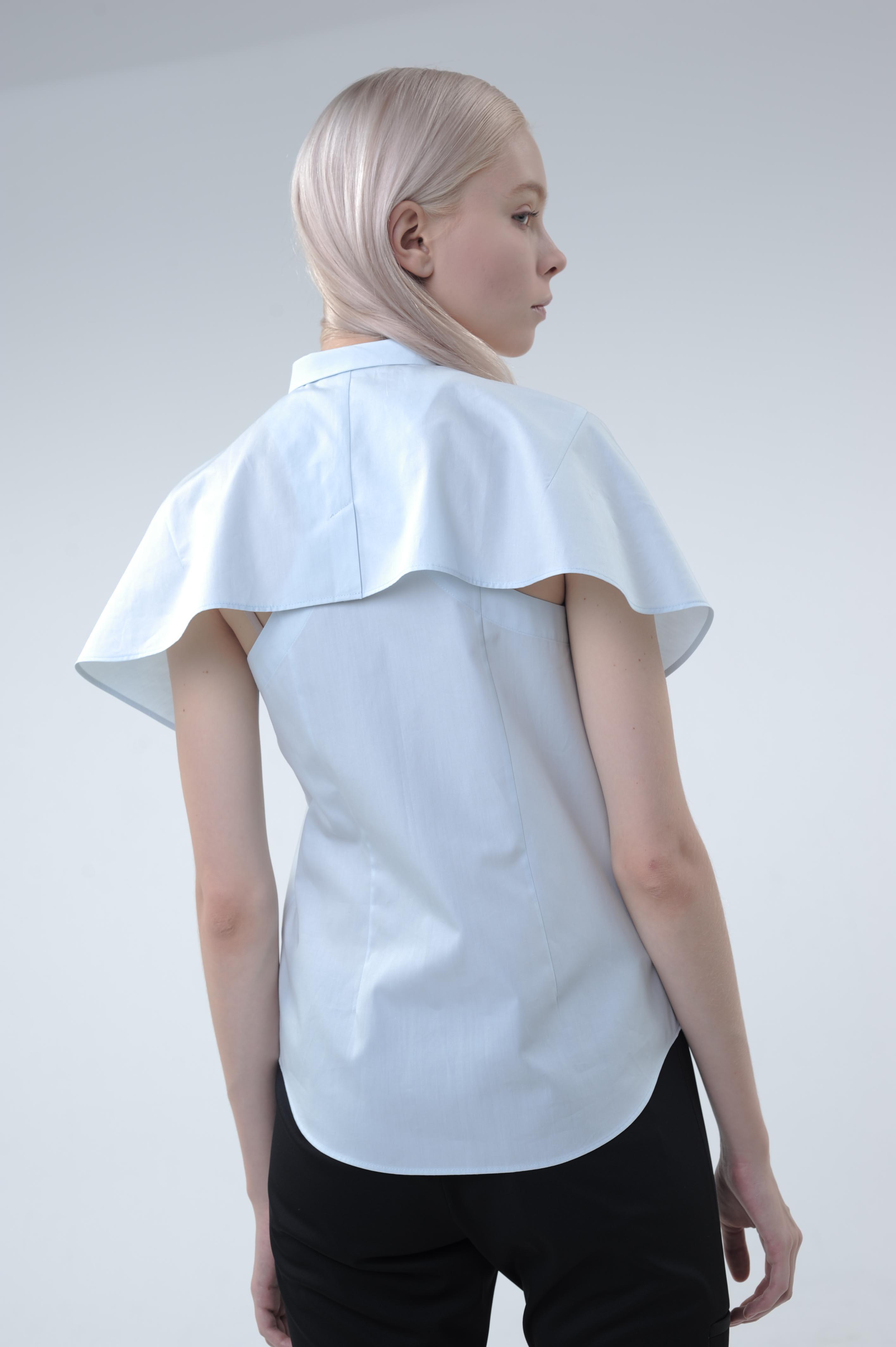 uemulo munenoli ホワイトレーベルのシャツ・ブラウス 『BELL』_e0122680_183829.jpg