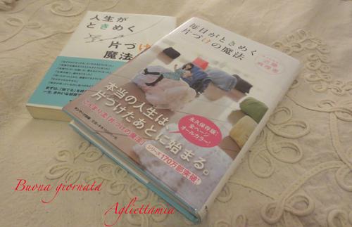 片づけの魔法!!この本を持ち込みイタリアで実践!!_c0179785_371585.jpg