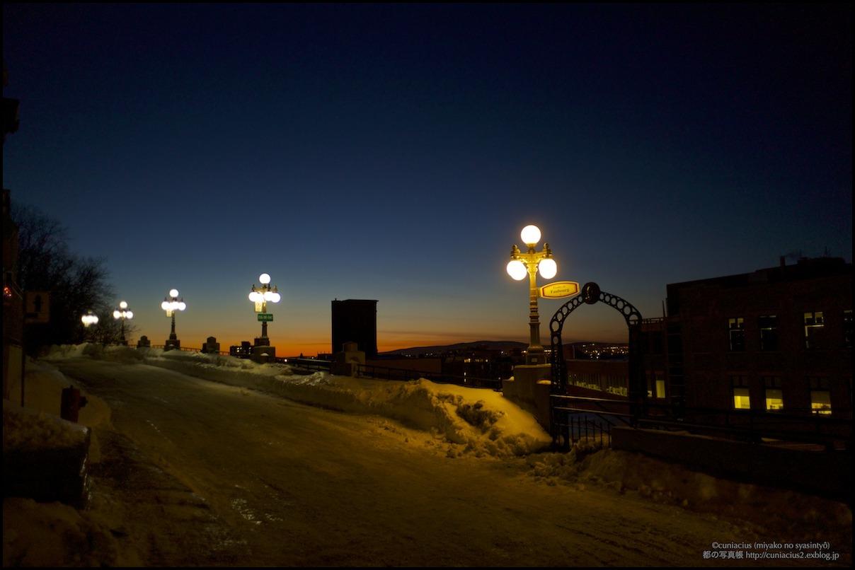 Ville de Québec 9 — ちょっと夕焼けきれいでした_f0042194_00246.jpg
