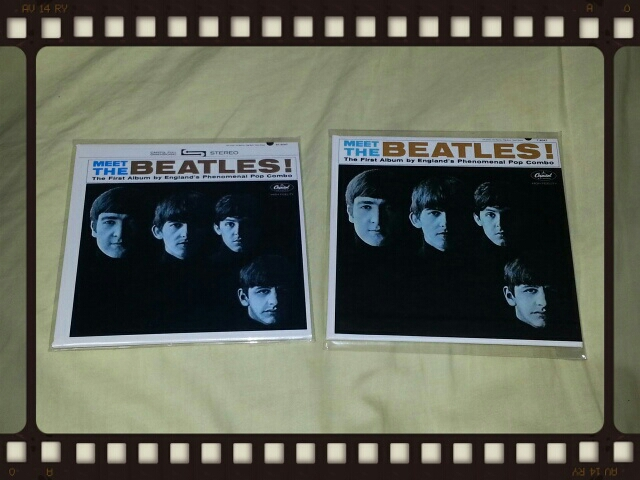 MEET THE BEATLES! (Stereo紙ジャケ & Mono紙ジャケ)_b0042308_23405287.jpg