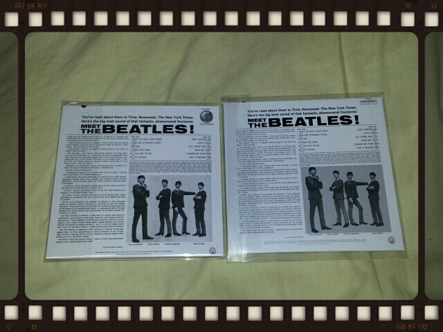 MEET THE BEATLES! (Stereo紙ジャケ & Mono紙ジャケ)_b0042308_23461838.jpg