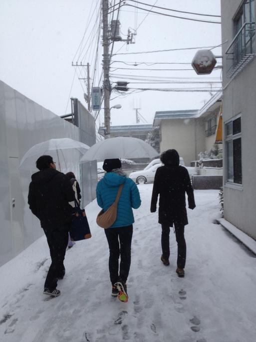 東京に行ってきたんですよ、大雪の日に。_d0242009_22434342.jpg