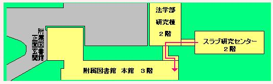 附属図書館の渡り廊下_c0025115_184210100.jpg