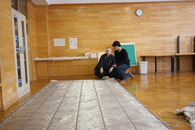 おとどけアート 北陽小学校×風間天心 2月17日(月) 後半_a0062127_23305289.jpg