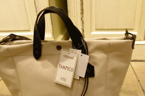 TAMPICO のキャンバスバッグです。_c0227633_0584040.jpg
