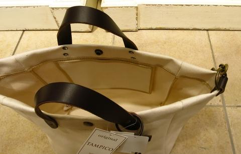 TAMPICO のキャンバスバッグです。_c0227633_0594116.jpg