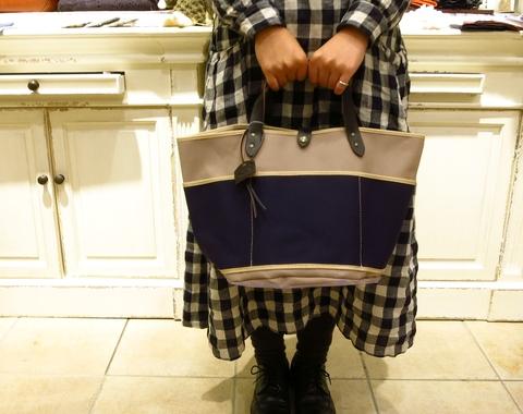 TAMPICO のキャンバスバッグです。_c0227633_1177.jpg