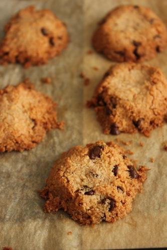 らでぃか全粒中力粉で、しほさんのココナツチョコクッキー!_a0165538_9142277.jpg