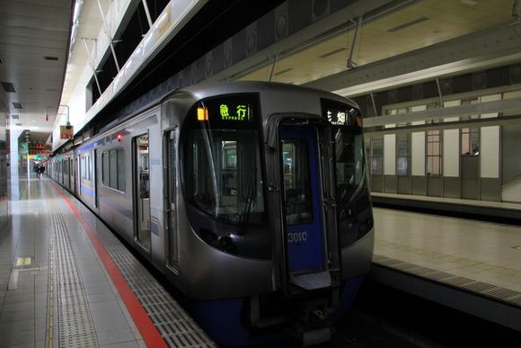 西鉄3000形 天神大牟田線で_d0202264_229303.jpg