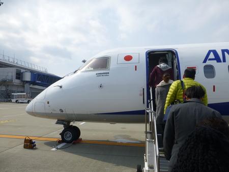 熊本県阿蘇シリーズ  ANAの熊本行きプロペラ機に乗る_b0011584_5172061.jpg