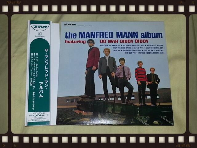 MANFRED MANN / THE MANFRED MANN ALBUM + 12 (紙ジャケ)_b0042308_22531158.jpg