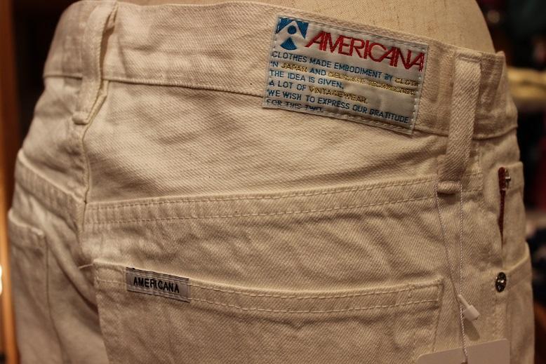 """Americana \""""クロップド JEANS\"""" 再入荷&新色 ご紹介_f0191324_92507.jpg"""