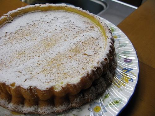 チーズケーキ(レモンピール入り)_f0129726_2233361.jpg
