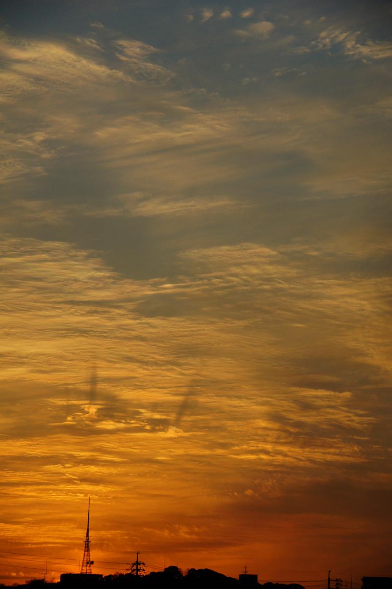 絵画的夕空。_f0189086_2014983.jpg