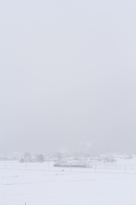 雪に溶け込む - 2014年冬・釜石線試運転 -  _b0190710_21503747.jpg