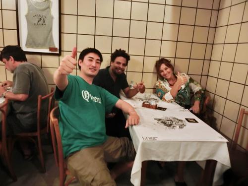 世界的な音楽の都☆リオデジャネイロ(ブラジル)のトップアーティスト達と深め広げる音楽人関係♬▶_b0032617_8161172.jpg