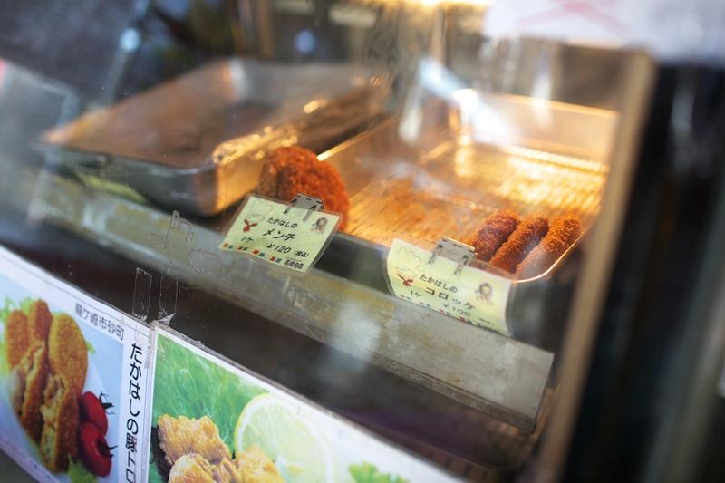 高橋肉店[豚トロコロッケ/米粉クリームコロッケ]_a0243720_23302703.jpg