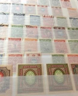 ロシア帝国切手(1721年から1917年)_b0087556_22153520.jpg