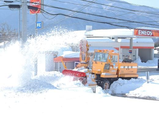 大雪の中の感動(@_@。_a0211886_1115630.jpg