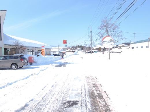 大雪の中の感動(@_@。_a0211886_1341693.jpg