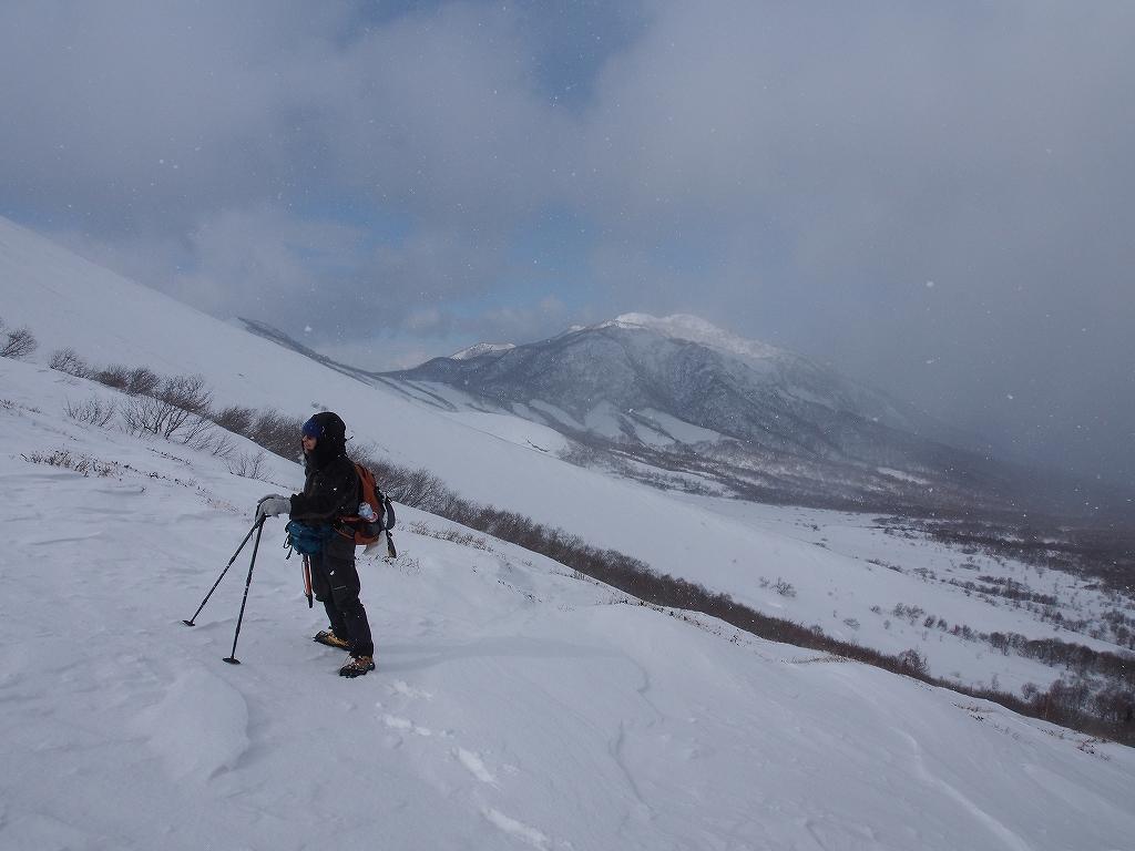 樽前山、2月20日-その1-_f0138096_21374410.jpg