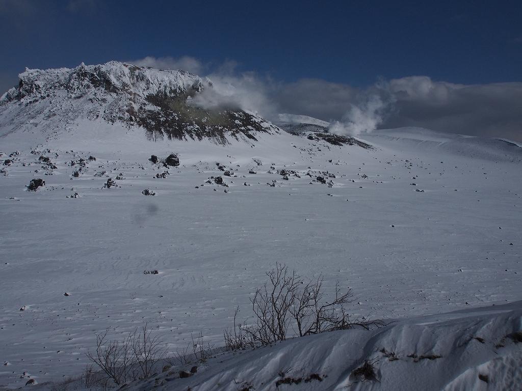 樽前山、2月20日-その1-_f0138096_21391944.jpg