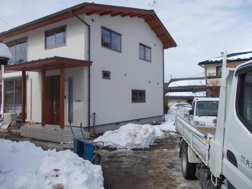 豊科Y邸完成間近_c0218716_17242165.jpg