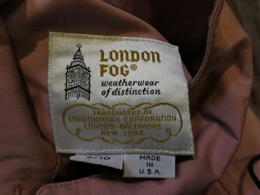 2月22日(土)入荷! LONDON FOG  JKT_c0144020_15543934.jpg