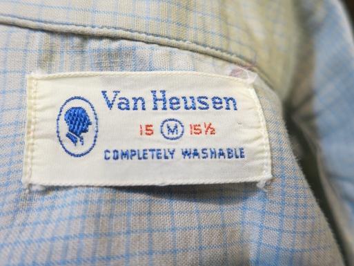 2月22日入荷! 50'S VAN HEUSEN オープンカラーシャツ!_c0144020_16134330.jpg